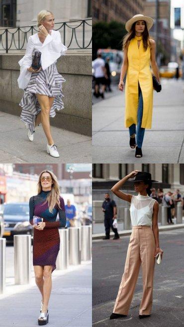 Street style образы с Недели моды в Нью-Йорке, которым можно и должно следовать