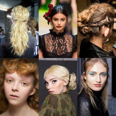 Макияж и прически: Неделя моды в Милане (+фото)