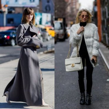 Зимние и осенне-весенние пальто: идеи стритстайла
