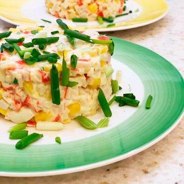 ПП крабовый салат