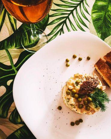 Рецепты ПП салата Оливье