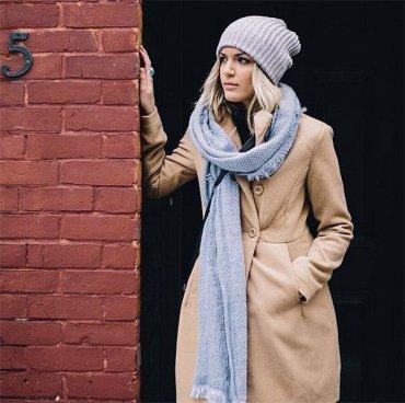 Как носить шарф: 30 способов на каждый день