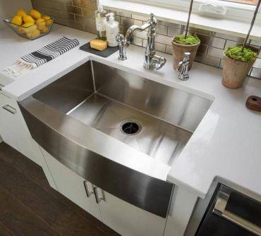 Как очистить кухонную раковину домашними средствами