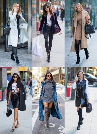 25 повседневных осенних образов моделей Victoria's Secret