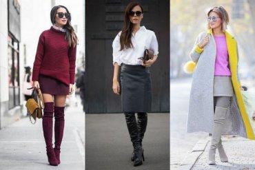 11 модных способов носить ботфорты этой осенью и зимой