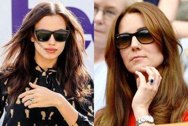 У Ирины Шейк заметили кольцо, точь-в-точь как у Кейт Миддлтон