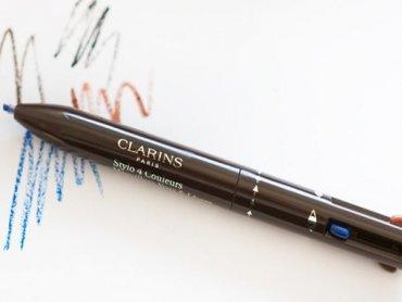 4 в 1: новый четырехцветный карандаш для глаз и губ Clarins