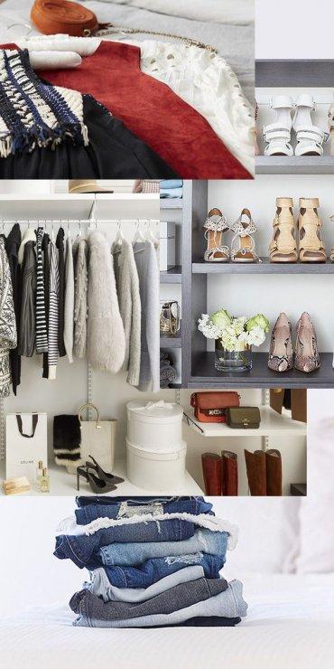 Четыре недели на уборку в гардеробе