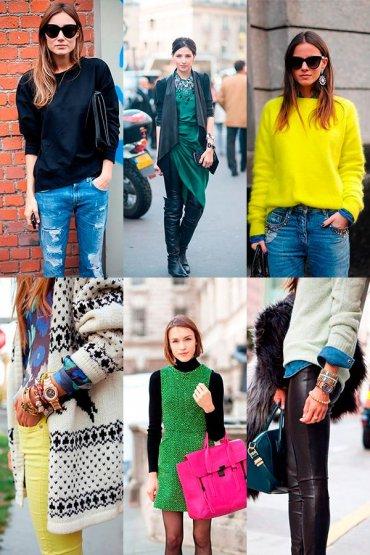 Весенний шик: 30 образов от звёзд уличной моды