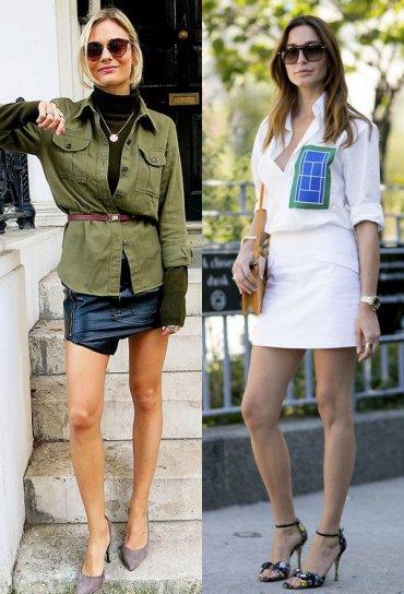 Уличный стиль: 45 способов ношения мини-юбок этой весной