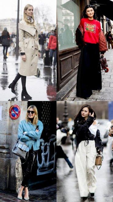 Стритстайл по-парижски: 21 образ для вдохновения